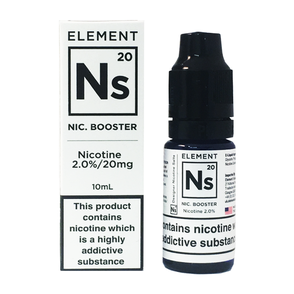 Element E-Liquids - NS20 Nic Salt Shot