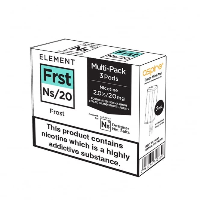 Element E-Liquids NS20 Pods - Frost