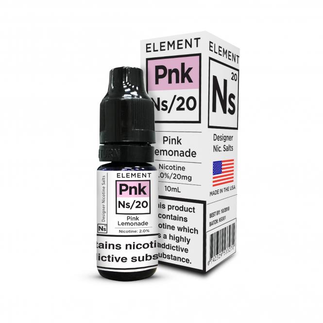 Element E-Liquids NS20 - Pink Lemonade