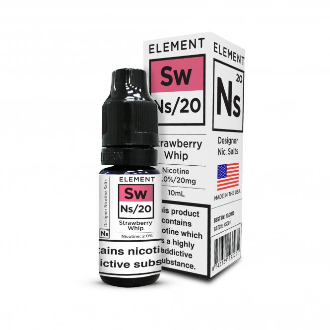 Element E-Liquids NS20 - Strawberry Whip