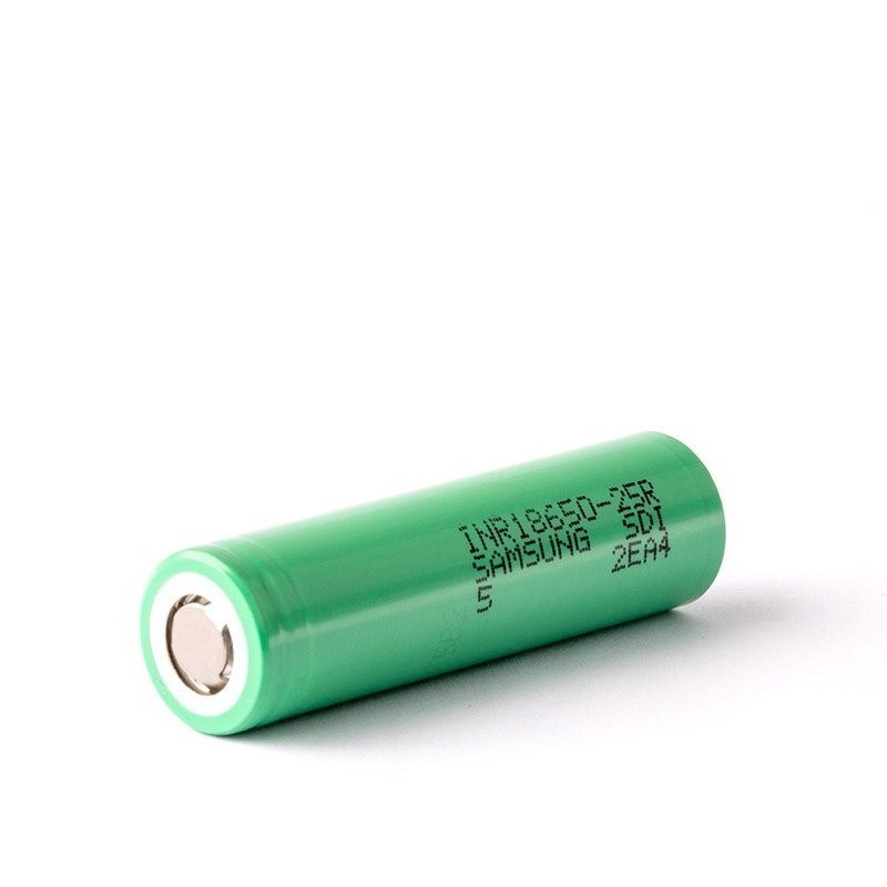 Samsung INR18650-25R 18650 2500mAh Flat Top High Drain Battery