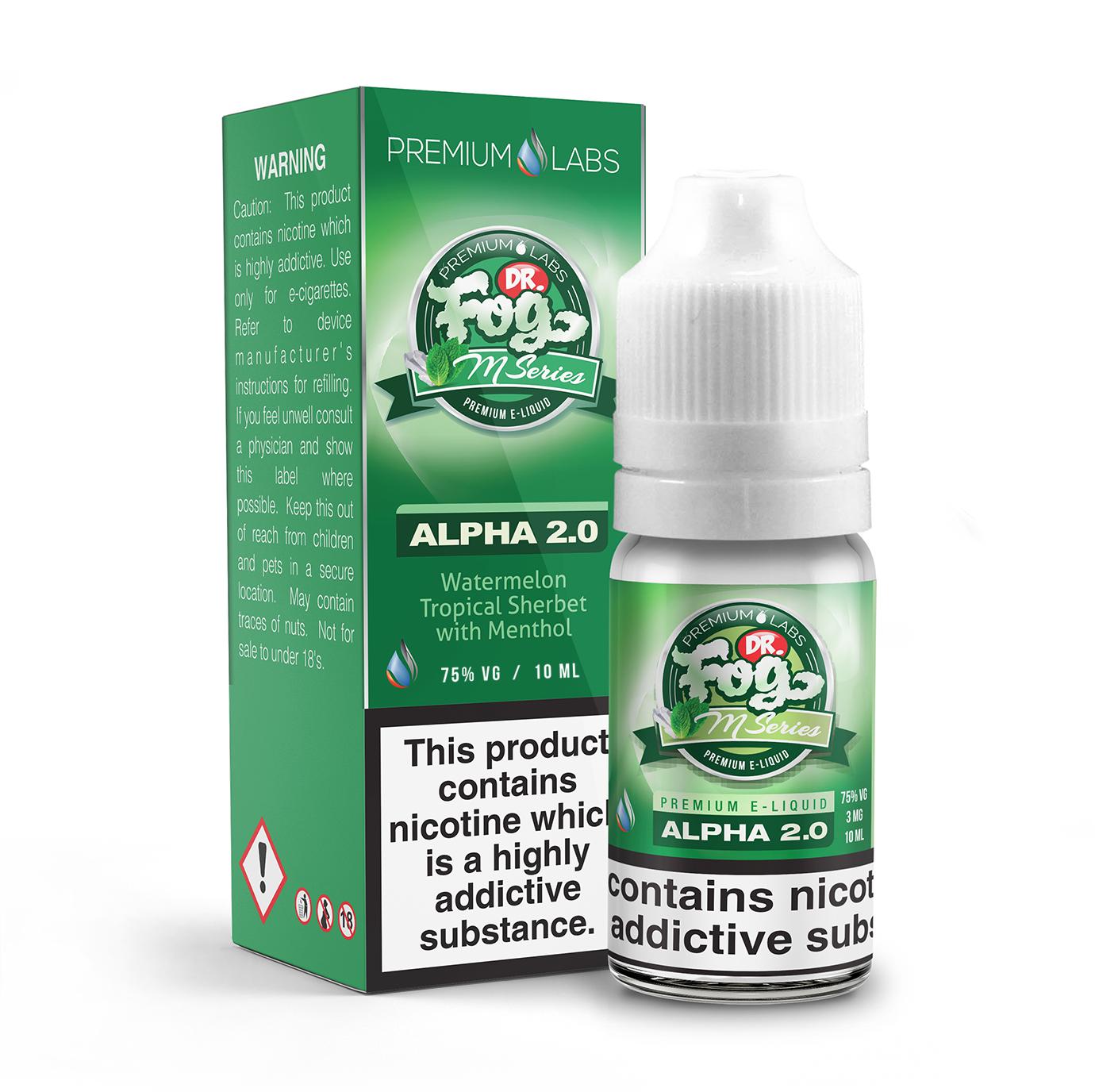 Dr Fog's M Series - Alpha 2.0 E-Liquid