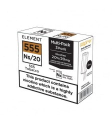 Element E-Liquids NS20 Pods - 555 Tobacco